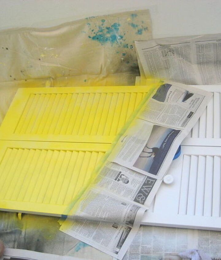 organize your kitchen on a door, doors, organizing, painting