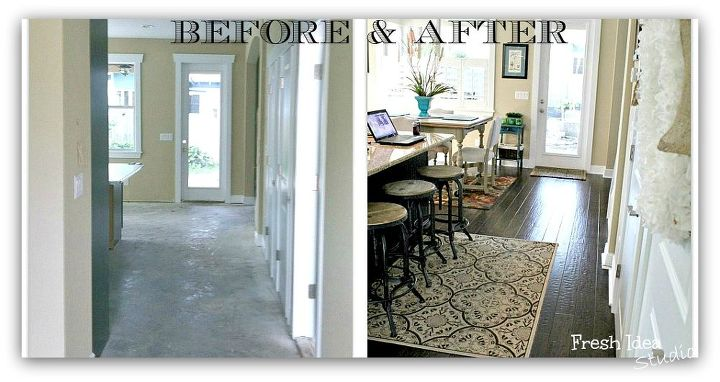 What we learned from living with high gloss flooring and why we picked...
