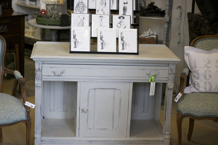 vintage furniture painted with chalk paint by annie sloan, chalk paint, painted furniture