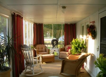 our front porch, home decor, porches, Our front porch