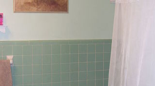 q can i paint over bathroom tile and have it look good, bathroom ideas, painting, tiling