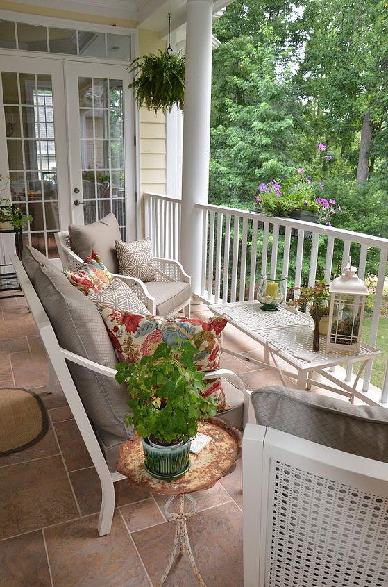 a summer porch, outdoor furniture, outdoor living, patio, porches