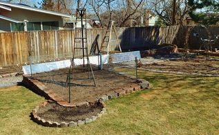 gardening ladders, gardening