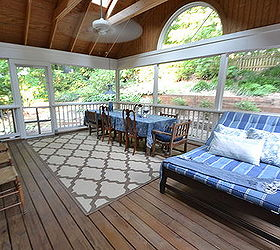 Screened In Porch {view From French Doors}