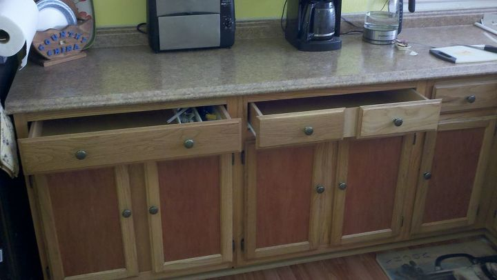 Large deep full access drawers...