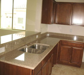 Nice Granite, Would Like To Have A Single Basin Sink Instead.