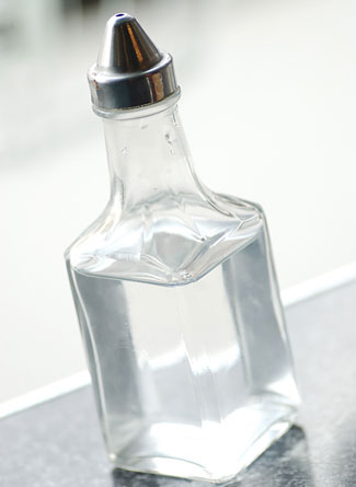 White Vinegar comes from the process of distilled alcohol undergoing acid fermentation.   Vinegar can be mixed with water (1:1 ratio) to create a fantastic all-purpose cleaner that deodorizes and disinfects all in one.