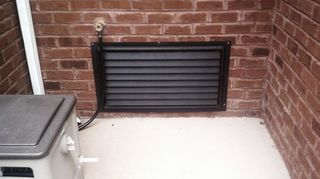 q crawl space door solid of vented, curb appeal, doors, home maintenance repairs, hvac