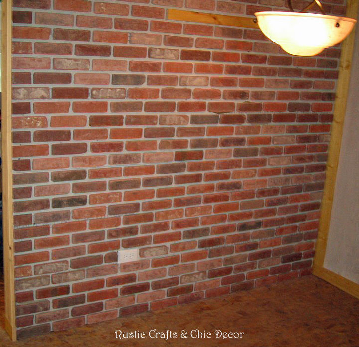 How To Install An Interior Brick Wall Hometalk