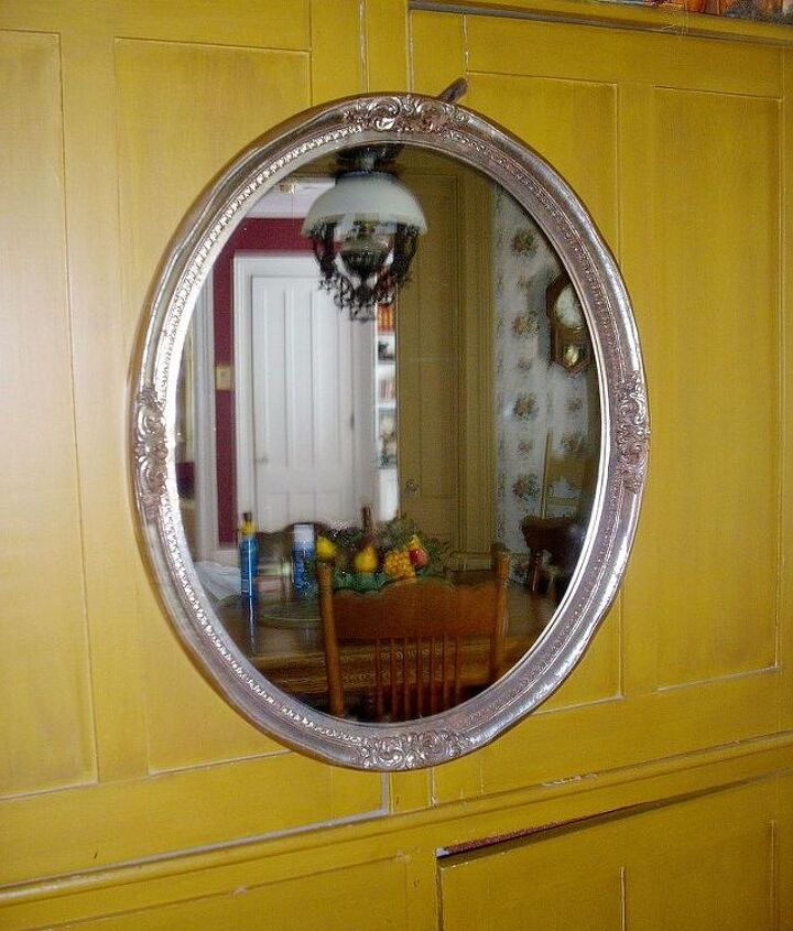 """I found this large mirror, 24"""" x 30"""" while thrifting!"""