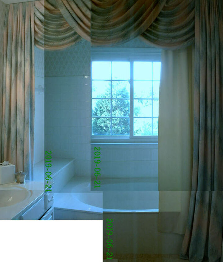 q suggestion to keep same design with a more updated look, home decor, window treatments, windows