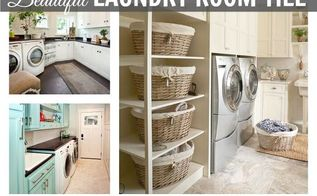 beautiful laundry room tile, flooring, home decor, laundry rooms, tile flooring, tiling, Choosing Laundry Room Tile is tough with all these beautiful choices