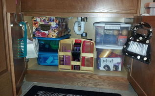 organizing bathroom cabinet from things you already have, bathroom ideas, kitchen cabinets, organizing, After