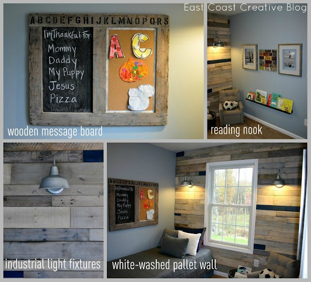 Pallet Wall Room Transformation Diy Home Decor How To