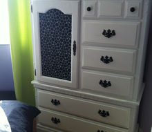 20 armoire makover, painted furniture