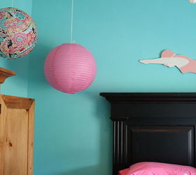 Tiffany Blue Girl S Room, Bedroom Ideas, Home Decor, The Paper Lanterns Are