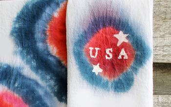 DIY 4th Of July Tea Towels