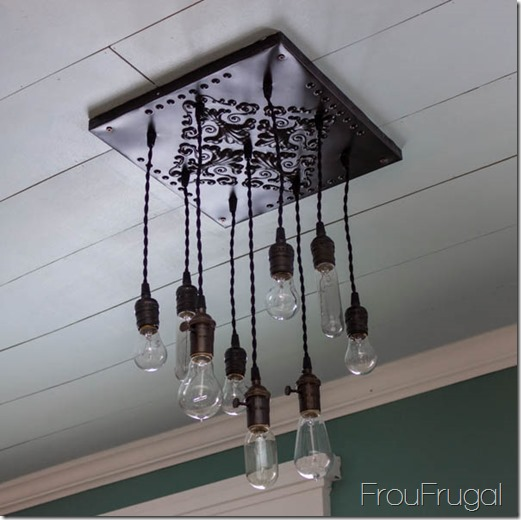 How to make a bare edison bulb chandelier hometalk how to make a bare edison bulb chandelier diy home decor kitchen design aloadofball Choice Image