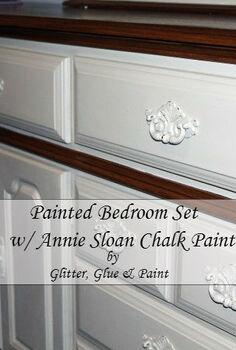 painted furniture, bedroom ideas, chalk paint, painted furniture, Painted bedroom set with Annie Sloan Chalk Paint