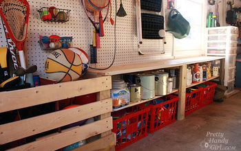 Organized Garage and Workshop
