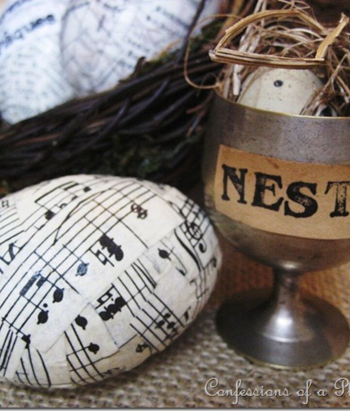 Fun and easy sheet music Easter eggs