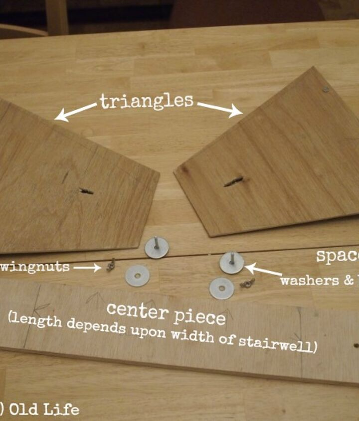 diy stair tread gauge, diy, stairs, woodworking projects