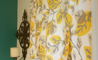 tablecloth curtains, crafts, home decor, repurposing upcycling