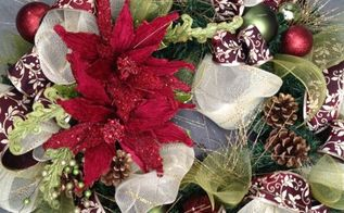 christmas wreaths part 2, crafts, seasonal holiday decor, wreaths, Classic