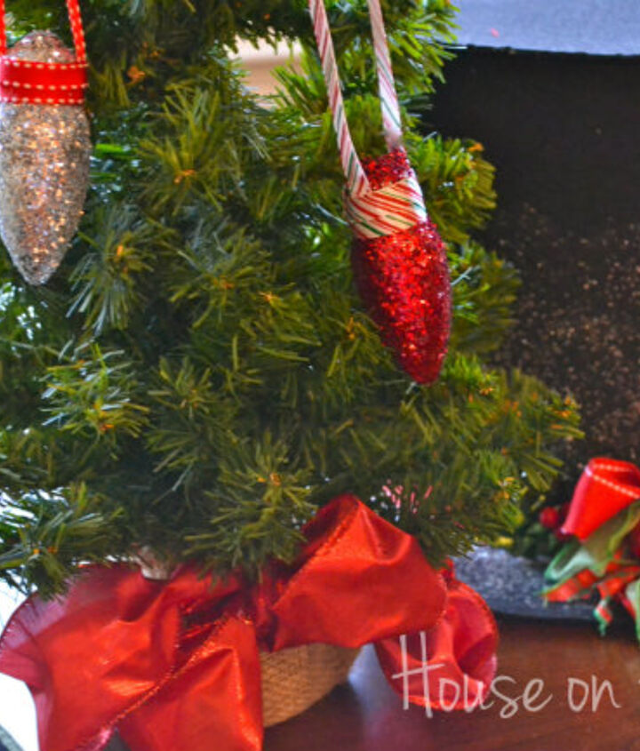 old fashion christmas bulb ornament craft, crafts, seasonal holiday decor