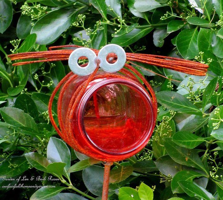 Mason Jar bug ~ gift from a friend