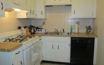 Rental Apartment Kitchen Makeover
