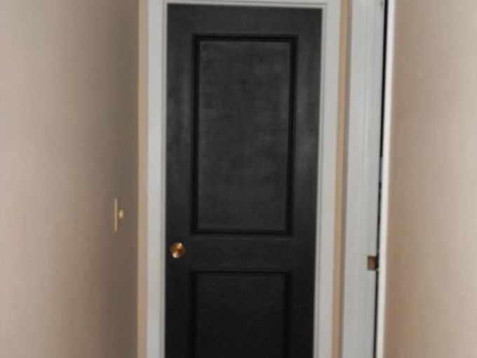 adding trim to doors, diy, doors, painting, woodworking projects, What a difference
