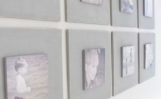 diy gallery wall tutorial, home decor, Easy project hardest part was cutting wood Check your local hardware store some will cut for you