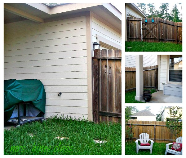dreaming of a backyard oasis, outdoor living, The before