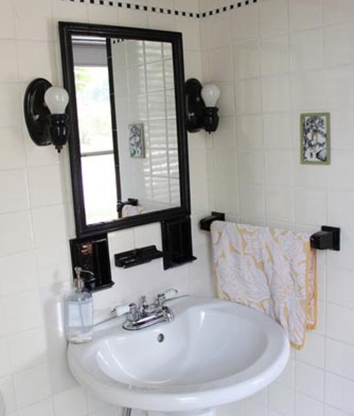 modern cottage house tour, home decor, bathroom