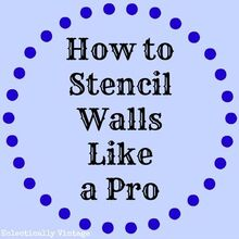 how to stencil walls like the pros, home decor, painting