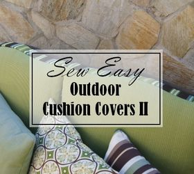 Delicieux Sew Easy Outdoor Cushion Tutorial Part Two, Crafts, Outdoor Furniture,  Painted Furniture,