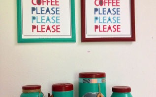 diy kitchen containers, chalkboard paint, crafts