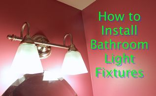 get your bathroom light fixtures back to the future, bathroom ideas, diy, how to, lighting, How to Install New Bathroom Light Fixtures