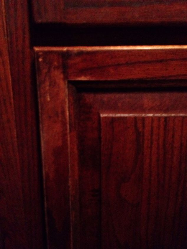 q removing grime from kitchen cabinets help takes more, cleaning tips, kitchen cabinets, painting, woodworking projects