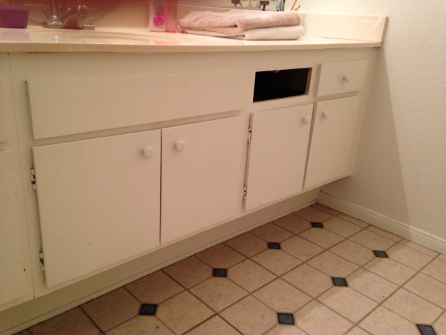 Can Mdf Bathroom Cabinets Look Like Stained Wood Hometalk