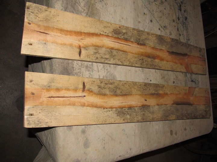 q help beauty in pallet wood 2 what to do, These were the two end slats on the pallet