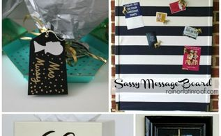 four easy diy gift ideas, crafts, seasonal holiday decor, Every DIY gift seen here can be completed in less than an hour