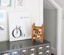 attic craft room reveal, craft rooms, home decor