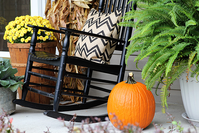 fun and festive fall porch, curb appeal, gardening, outdoor living, seasonal holiday decor, wreaths, My fall 2013 porch