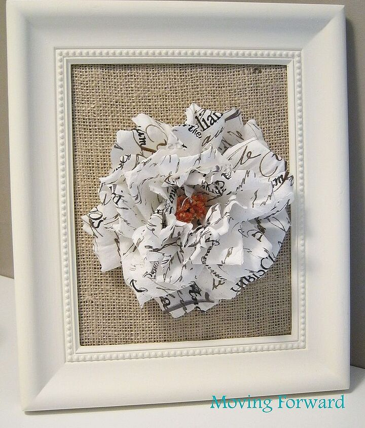 framed flowers, crafts