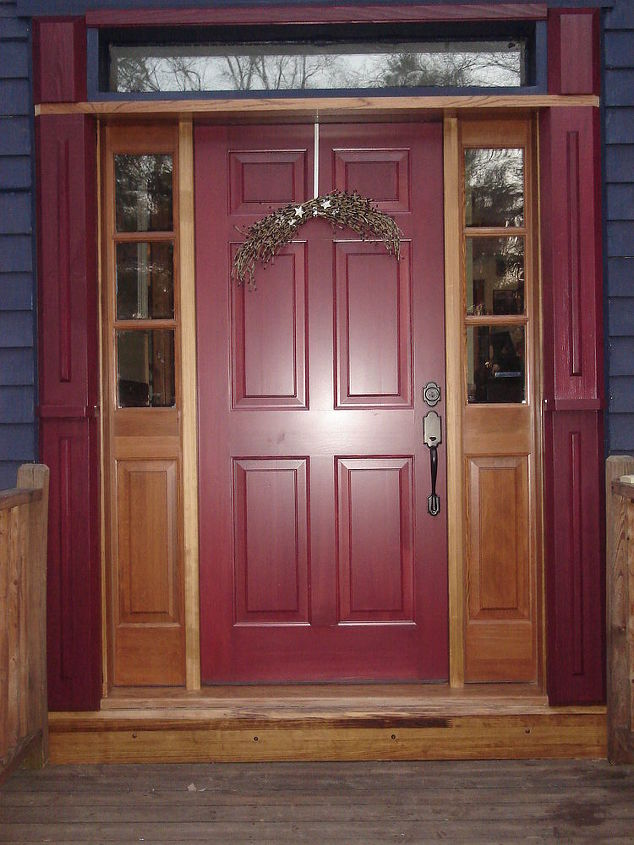 front door and stairs makeover, curb appeal, doors, stairs