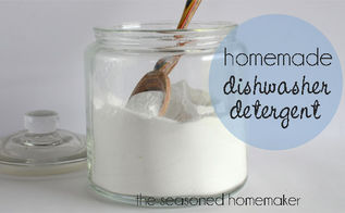 homemade dishwasher detergent for spot free dishes, cleaning tips, homesteading, Just mix the ingredients together Add 1 T to a full load