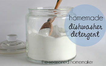 Homemade Dishwasher Detergent {for spot-free dishes}