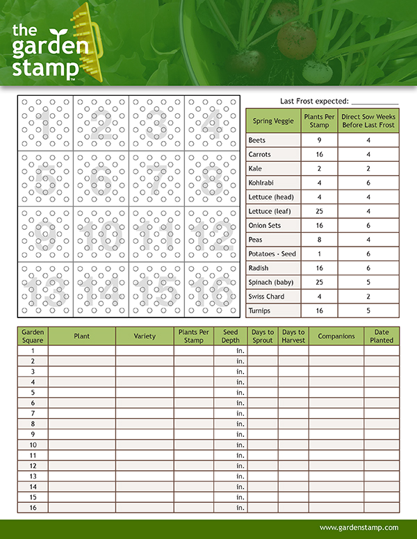 Old Fashioned image for garden planning worksheet